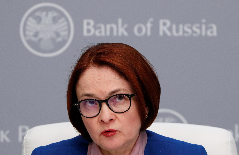 Elvira Nabiullina, gouverneur de la Banque centrale russe.