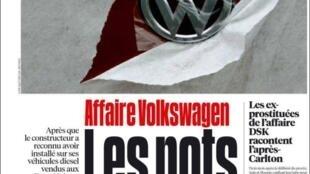 Capa do jornal Libération desta quarta-feira (23).