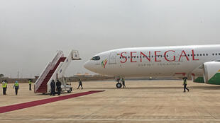Tous les aéroports internationaux d'Afrique où atterrissent des vols en provenance de Chine, ont été placés sous surveillance. Aéroport international Blaise Diagne, de Dakar. (Photo d'illustration)