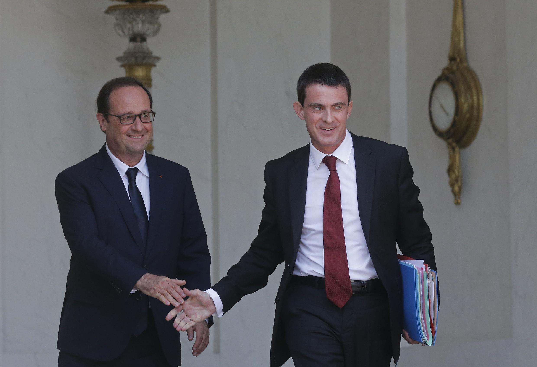 O novo governo da França foi definido pelo presidente, François Hollande, e o primeiro-ministro, Manuel Valls.