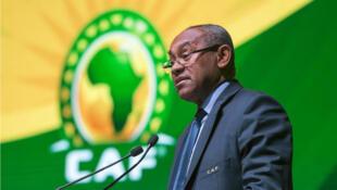 Rais wa shirikisho la kandanda barani Afrika, CAF, Ahmad Ahmad