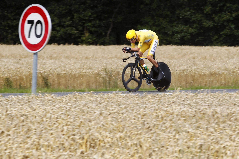 Брэдли Уиггинс, 19-й этап,  21 июля 2012 года
