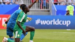 Le Sénégalais Sadio Mané lors de la Coupe du monde 2018.