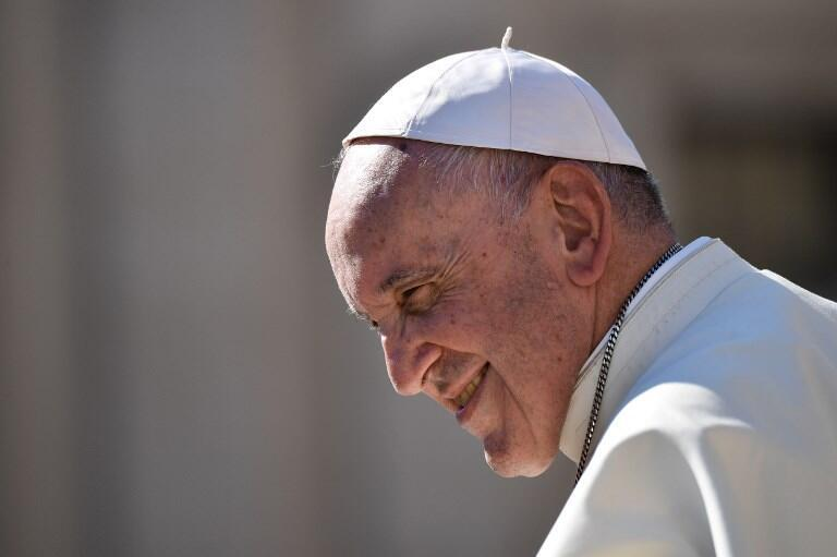 Le pape François au Vatican le 10 octobre 2018.