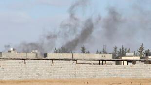 Depuis le 4 avril, le maréchal Haftar a lancé une offensive pour s'emparer de la capitale Tripoli.