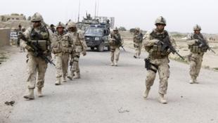 Des soldats de l'Otan, en Afghanistan.