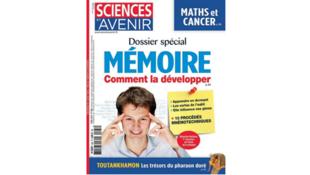 Couverture «Sciences et avenir», avril 2019.