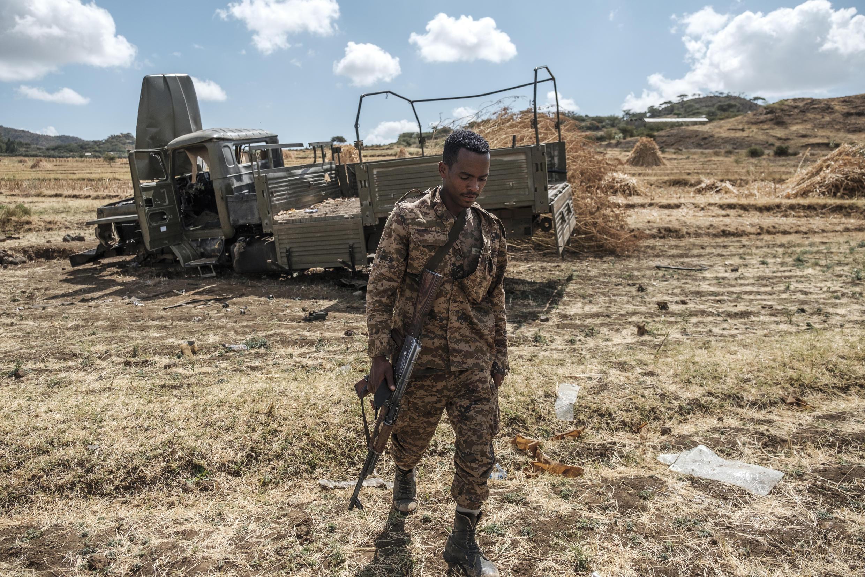2020-12-11 ethiopia army soldier Ayasu Gebriel village Alamata tigray violence