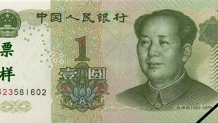 中國發行的第五套一元人民幣