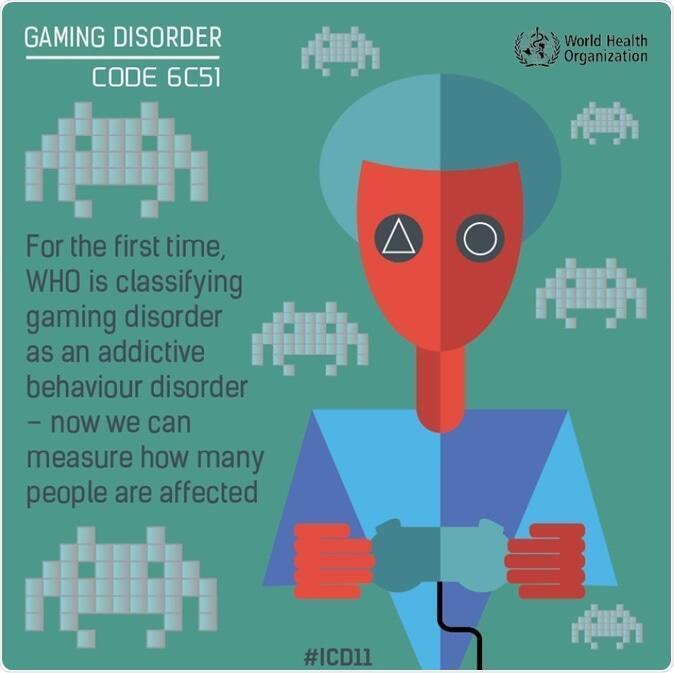 La adicción a los videojuegos ha sido considerada en esta nueva versión CIE 11.