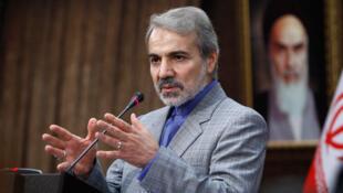 محمد باقر نوبخت سخنگوی دولت حسن روحانی
