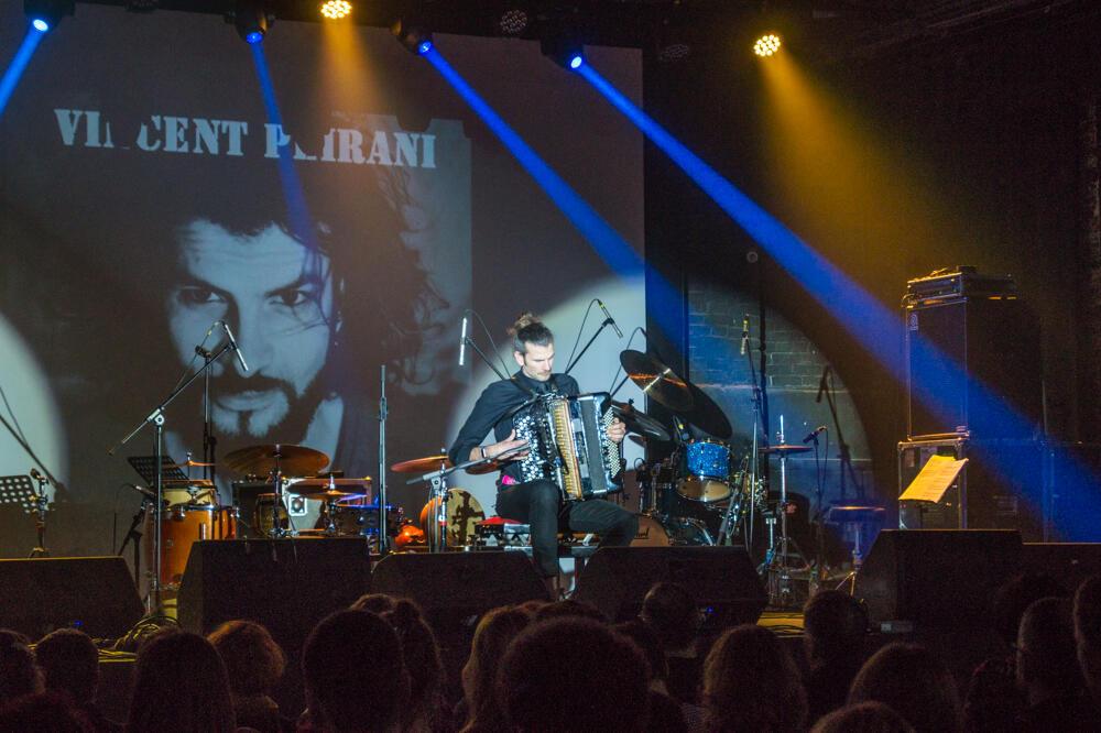 Французский джаз-аккордеонист Венсан Перани на фестивале Minsk Winter Jazz 2020