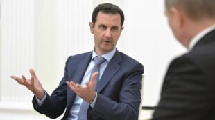 Pháp cương quyết đòi tổng thống Syria Bachar Al Assad, phải ra đi.