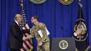 Tổng thống Trump tại CENTCOM - Florida ngày 06/02/2017.