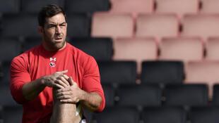 Jamie Cudmore lors de la Coupe du monde de rugby en 2015.