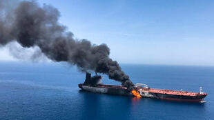 Uno de los atacados este pasado 13 de Junio en aguas del Golfo