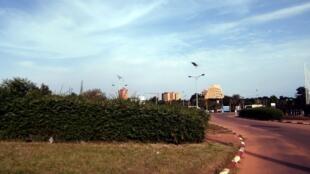Vue de la ville de Niamey.