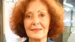Christine Frérot en los estudios de RFI