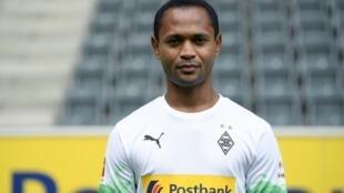 O jogador brasileiro Raffael, do Borussia M'Gladbach.