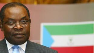 Severo Moto, le président du Parti du progrès en Guinée équatoriale.