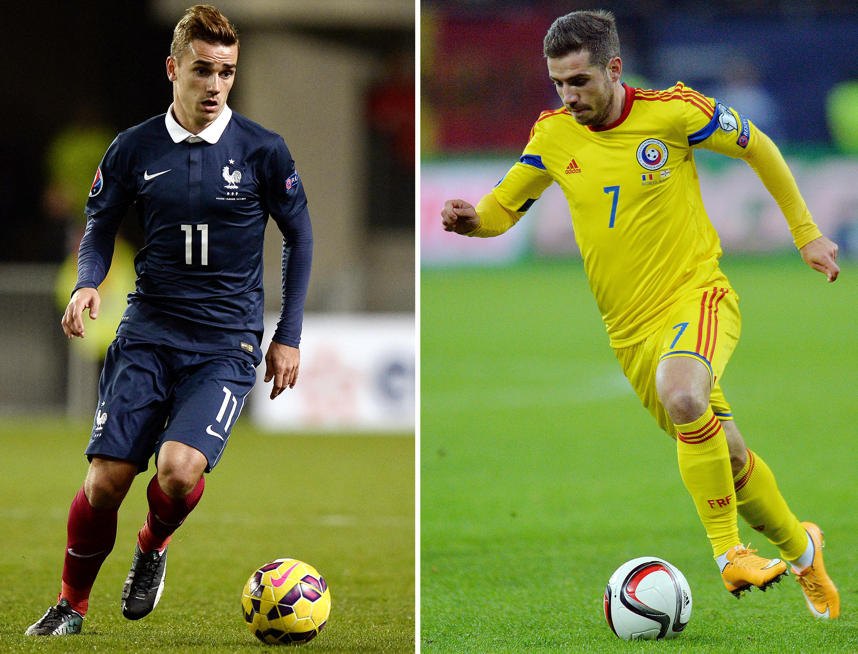اولین مسابقه یورو ۲۰۱۶ میان تیم های فرانسه و رومانی برگزار می شود