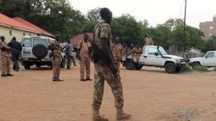 Sojojin gwamnatin Sudan ta Kudu da 'Yan sanda da ke biyayya ga Shugaba Salva Kiir