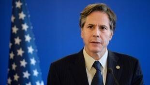 美國候任總統拜登所提名的國務卿布林肯(Anthony Blinken)
