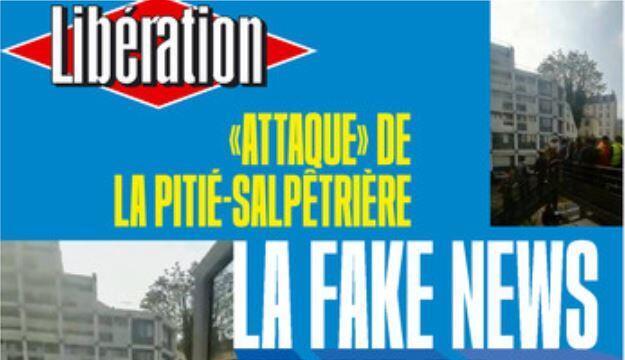 Первая полоса газеты Liberation, выпуск 3 мая 2019 года.