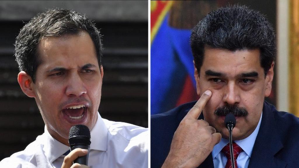Dois presidentes para Venezuela metem forças nas ruas de Caracas e prontos para eleições