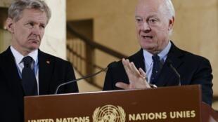 استفان دی میستورا، نماینده ویژه سازمان ملل در زمینه بحران سوریه