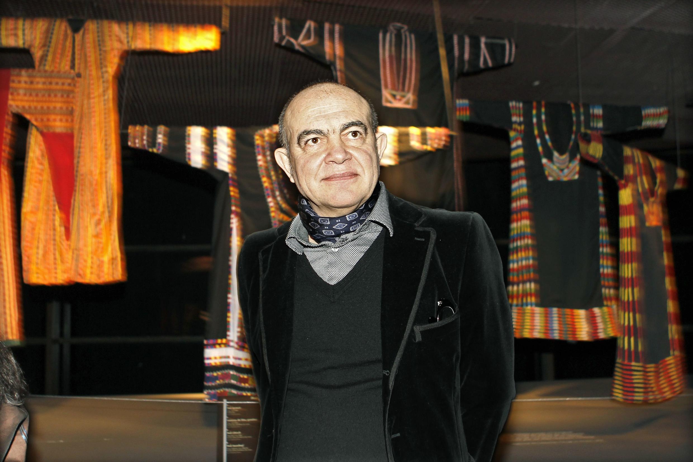 Christian Lacroix au Musée du Quai Branly, le 7 février 2011.