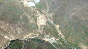 Ảnh vệ tinh chụp cơ sở thử hạt nhân Punggye-Ri của Bắc Triều Tiên (chụp ngày 14/05/2018)