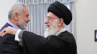 ابراز خوشحالی فراوان اسماعیل هنیه از اعلام آمادگی خامنهای برای مجهز کردن حماس - تصویر آرشیوی