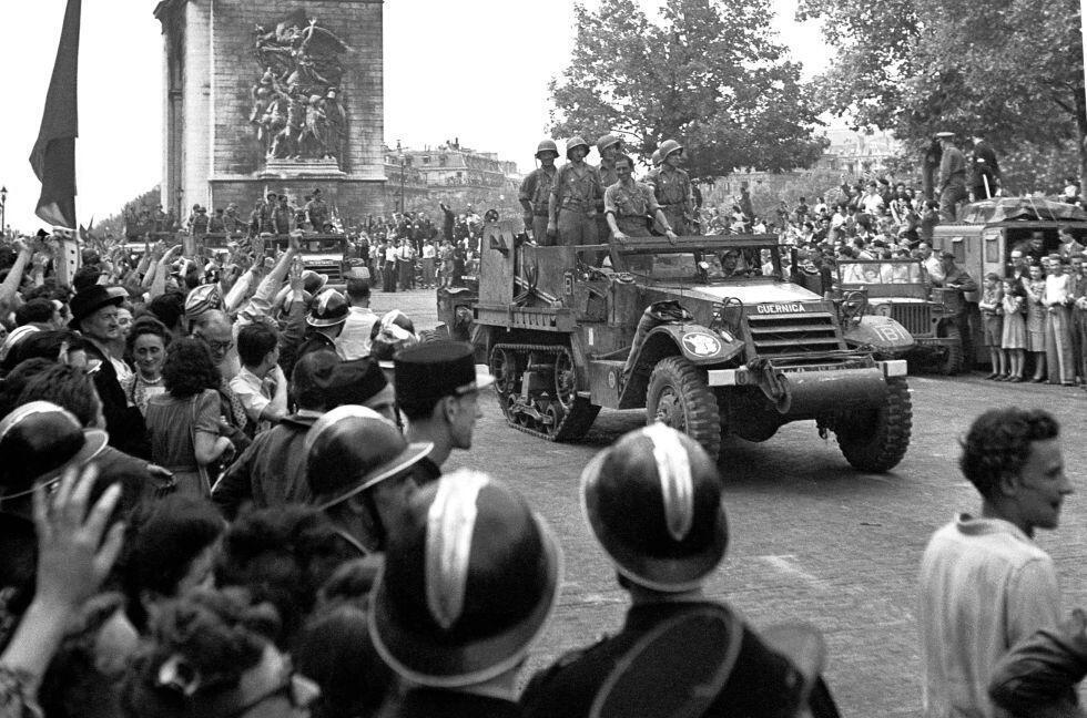 La Nueve, la primera unidad de los aliados en entrar a París.