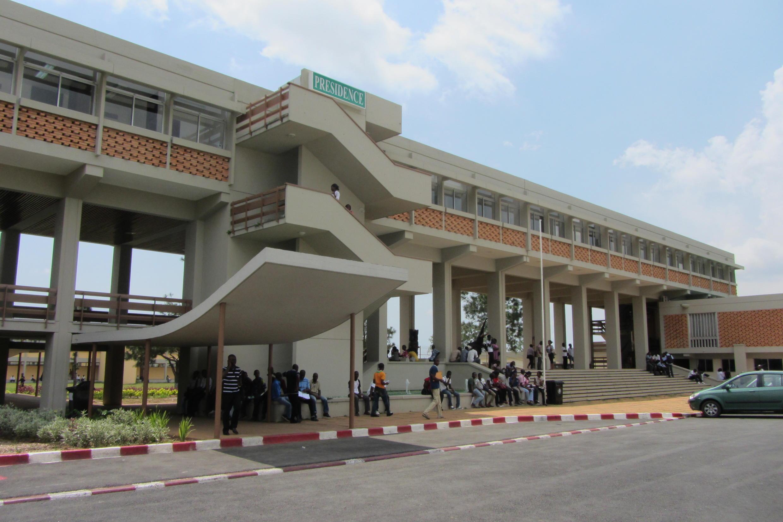 L'université Félix-Houphouët-Boigny à Cocody, Abidjan, Côte d'Ivoire.