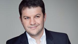 Nhà văn Pháp Guillaume Musso.