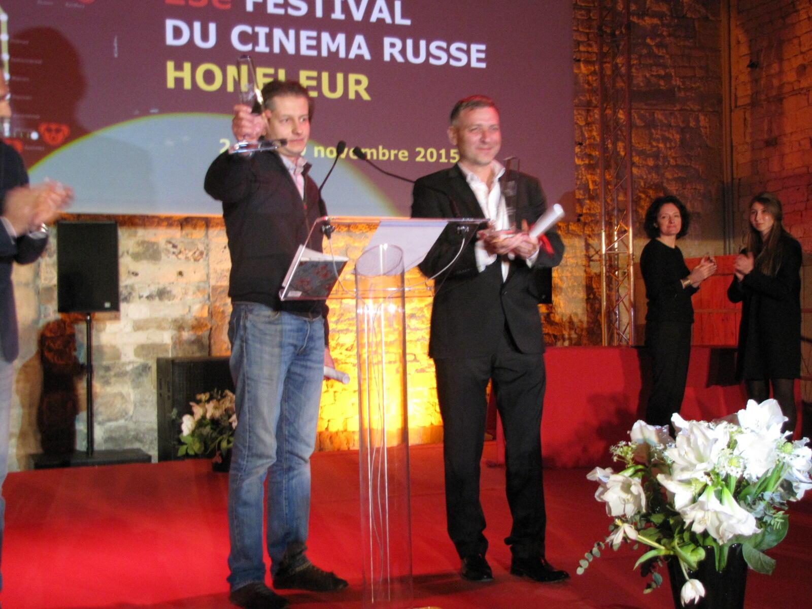 Победители 23 фестиваля в Онфлере, Андрей Зайцев (слева) и Артем Темников