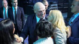 白俄罗斯总统卢卡申科资料图片