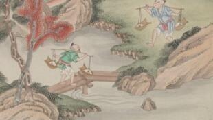 线上法中图书馆法国-中国网站文献之一