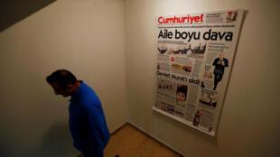 Le quotidien «Cumhuriyet» affirme qu'en plus de son rédacteur en chef, plusieurs de ses journalistes ont été arrêtés.