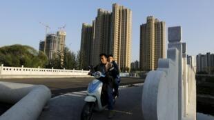 Những khu nhà chọc trời ở Bắc Kinh, biểu tượng của thành công kinh tế TQ.