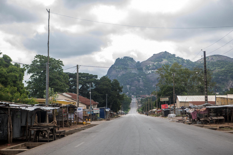 Vue d'une rue de la ville de Savè, au Bénin (image d'illustration).