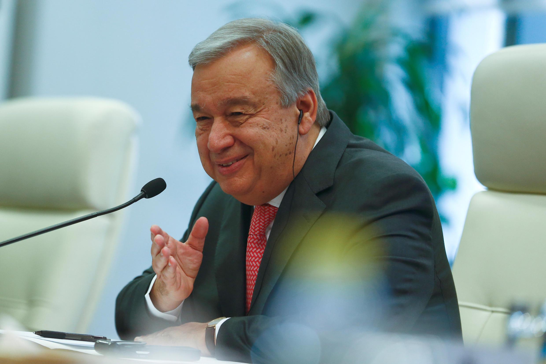 Antonio Guterres, katibu mkuu mpya wa umoja wa mataifa.