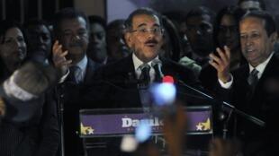 El candidato liberal, Danilo Medina, ganador de las presidenciales.