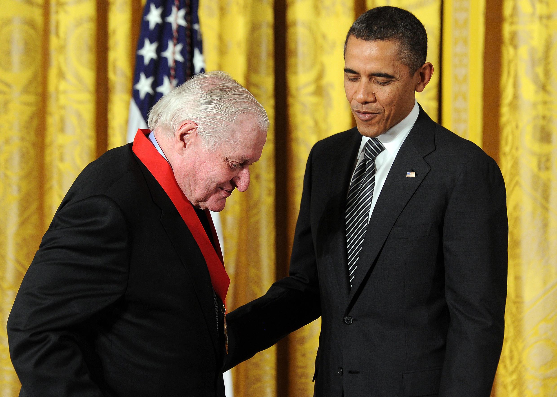 باراک اوباما و جان اشبری