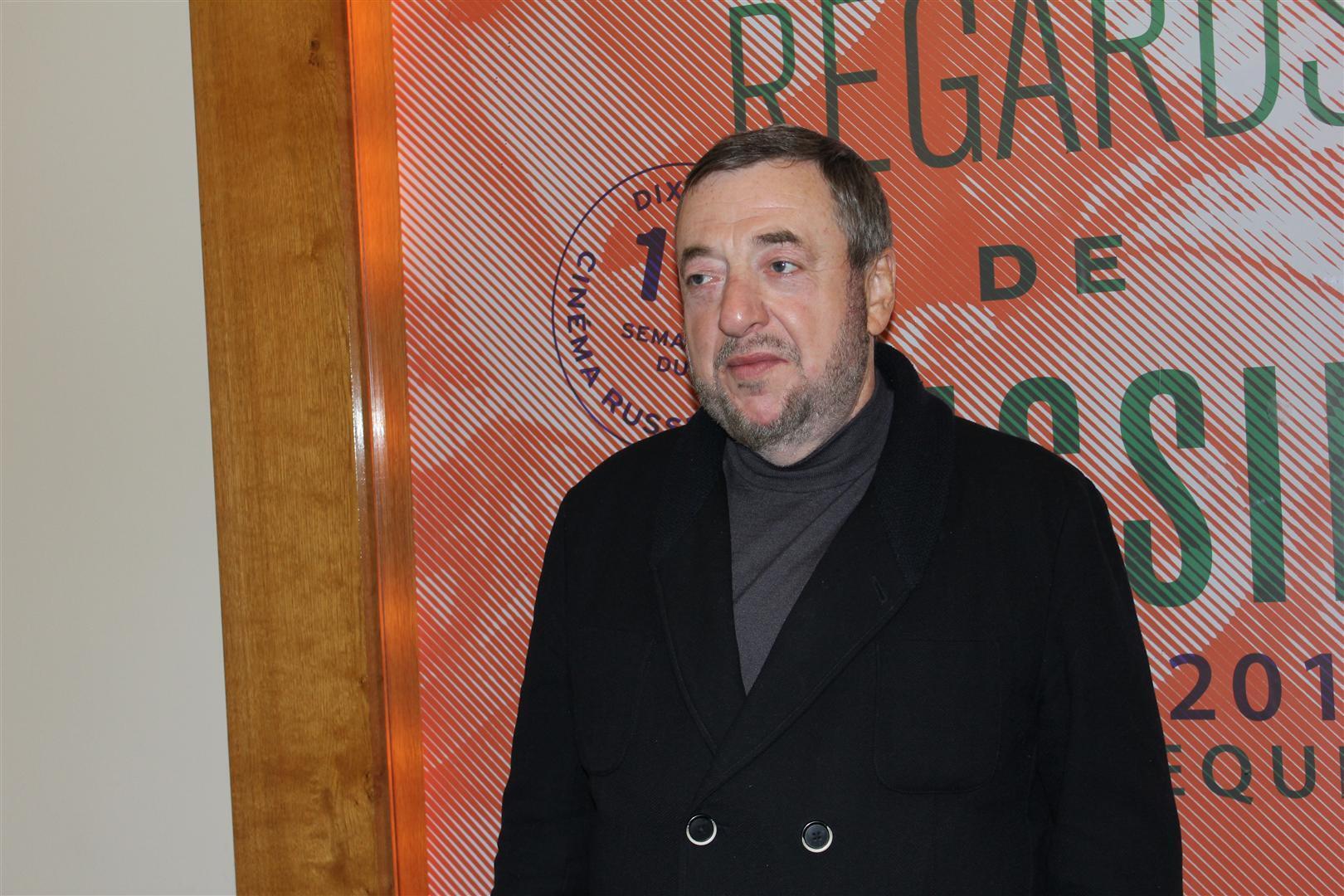 Павел Лунгин на открытии 10-й Недели российского кино в Париже 14 ноября 2012 г.