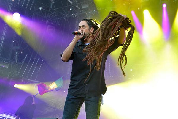 Le plus jeune fils de Bob Marley, Damian Marley