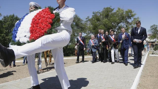 Visita de deputados franceses à Crimeia