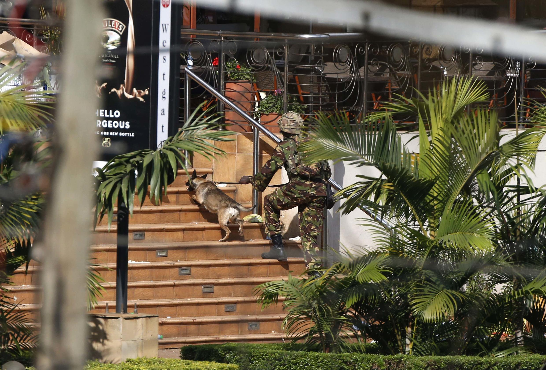 Westgate shopping mall de Nairobi, le 22 septembre 2013.