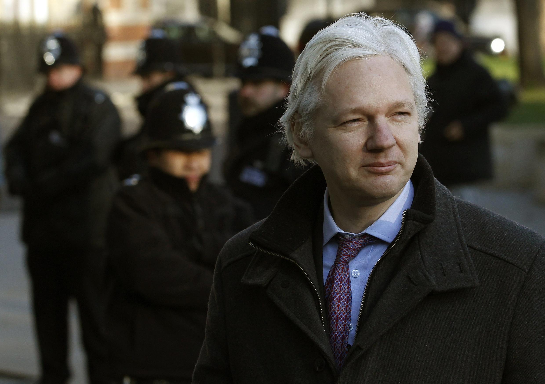 Mai wallafa bayanan sirri a shafin yanar gizo, Julian Assange.